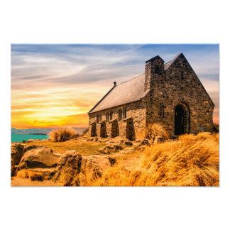 Foto Igreja do bom pastor - lago Tekapo