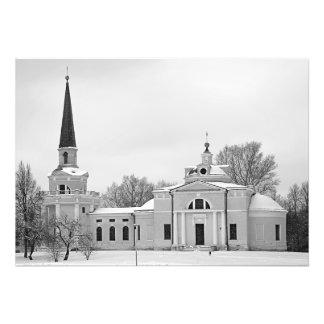 Foto Igreja do solar na propriedade Vvedenskoe de