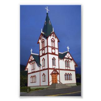 Foto Igreja luterana de Husavik, Islândia