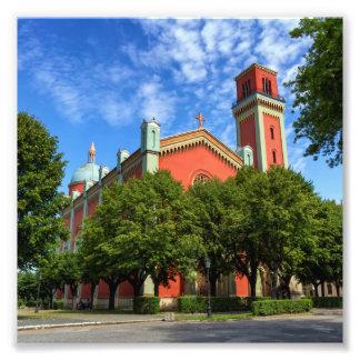 Foto Igreja luterana nova em Kezmarok, Slovakia