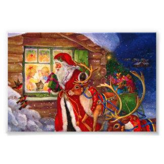 Foto Ilustração de Papai Noel - ilustrações do Natal