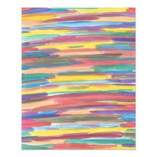 Foto Impressão da arte abstracta do espectro do
