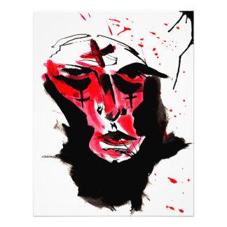 Foto Impressão da arte do anticristo (grande)