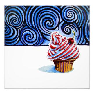 Foto Impressão da arte do cupcake (pequeno)