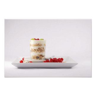 Foto Impressão da comida