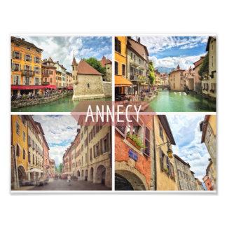 Foto Impressão de Annecy