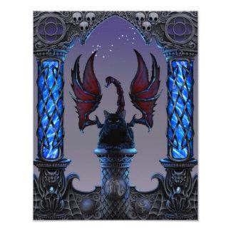 Foto Impressão de Zodicatabat 11x14 da Escorpião