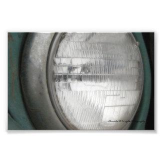 Foto Impressão do farol do jipe
