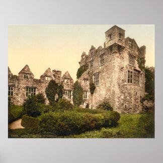 Foto-Impressão do vintage de Donegal Castelo Pôster