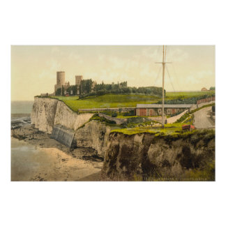 Foto-Impressão do vintage de Kingsgate Castelo Pôster