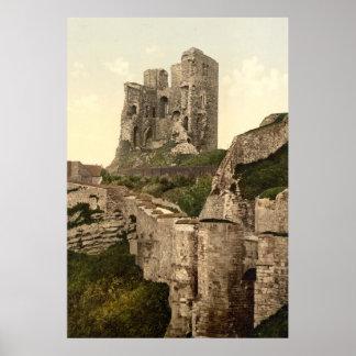 Foto-Impressão do vintage de Scarborough Castelo Pôster