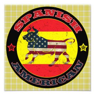Foto Impressão espanhol do poster de Bull do americano