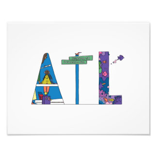 Foto Impressão feito sob encomenda | ATLANTA, GA (ATL)