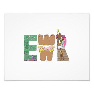 Foto Impressão feito sob encomenda | NEWARK, NJ (EWR)