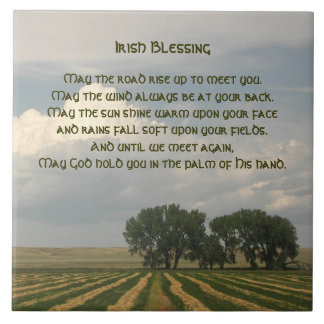 Foto irlandesa da terra da bênção