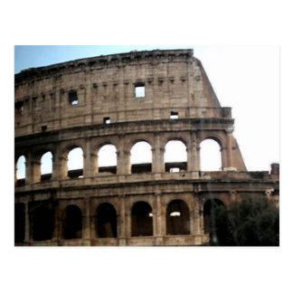 Foto italiana do viagem de Colosseum Cartão Postal