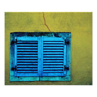 Foto Janela de madeira fechado