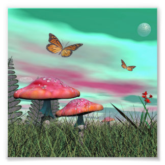 Foto Jardim da fantasia - 3D rendem