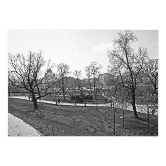 Foto Jardim de Alexander nas paredes de Kremlin