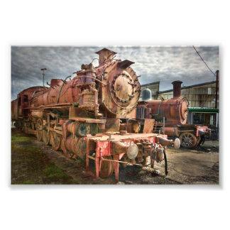 Foto Locomotiva de vapor