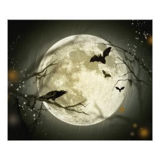 Foto Lua do Dia das Bruxas - ilustração da Lua cheia