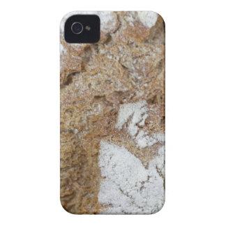 Foto macro da superfície do pão de mistura capinha iPhone 4