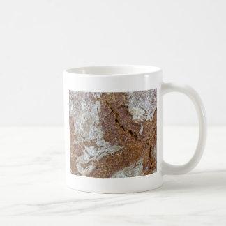 Foto macro da superfície do pão de mistura de Ger Caneca De Café