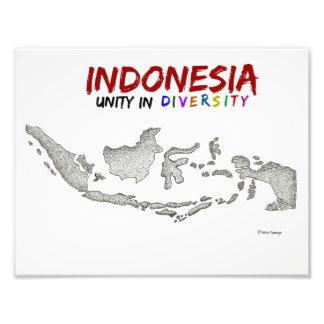 Foto Mapa de Indonésia
