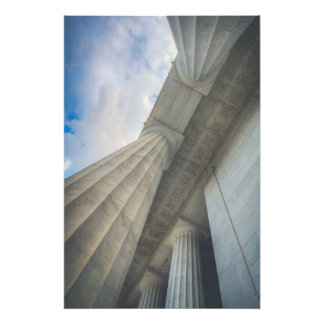 Foto Mármore do memorial de Lincoln