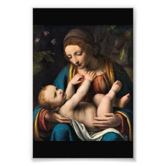 Foto MED Kristusbarnet de Madonna