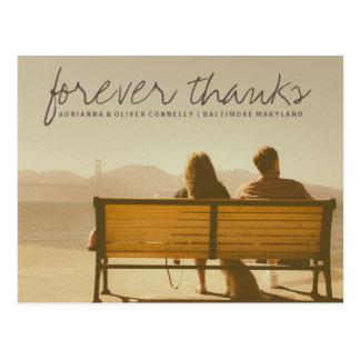 Foto moderna 2 do casal dos obrigados | do Forever Cartão Postal