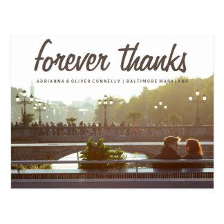 Foto moderna 3 do casal dos obrigados | do Forever Cartão Postal