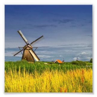 Foto Moinhos de vento em Kinderdijk, Holland, Países