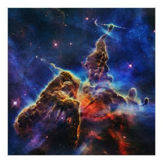 Foto Montanha místico na NASA do espaço