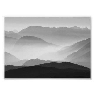 Foto Montanhas de B&W