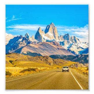 Foto Montanhas nevado de Andes, EL Chalten, Argentina