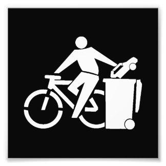 Foto Monte uma bicicleta não um carro