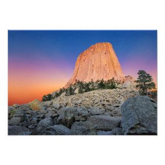 Foto Monumento nacional da torre dos diabos, Wyoming