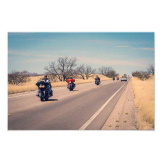Foto Motociclistas da estrada do deserto