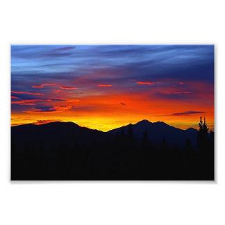 Foto Nascer do sol de Denali