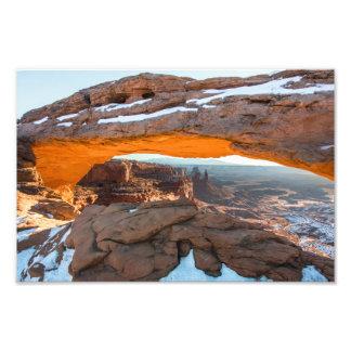 Foto Nascer do sol do arco do Mesa