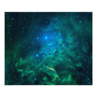 Foto Nebulosa flamejante da estrela