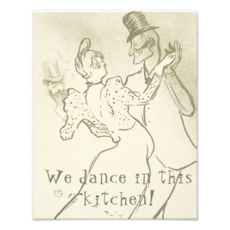 Foto Nós dançamos nesta cozinha | Lautrec, dançando o