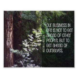 Foto Nosso negócio na vida