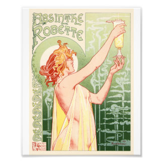 Foto O absinto Robette - poster vintage do álcool