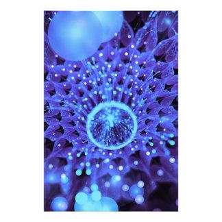 Foto O coração do inverno, uma dália Roxo-Azul do