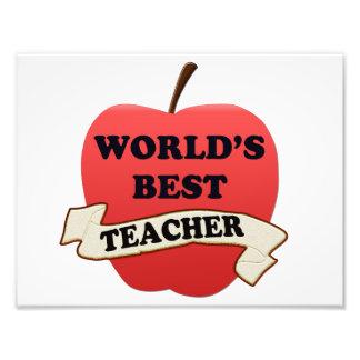 Foto O melhor professor do mundo