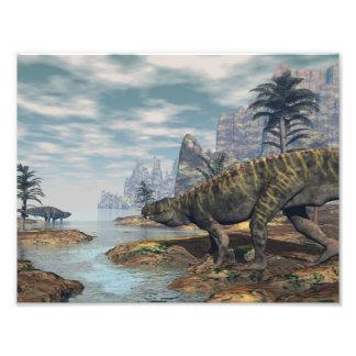 Foto Os dinossauros -3D de Batrachotomus rendem