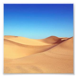 Foto Paisagem cénico da natureza do deserto da areia de
