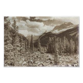 Foto Paisagem de Wyoming do Sepia do parque nacional de